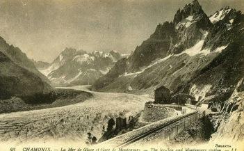 Mer du Glace ~1920