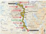LeTour Stage 9 route